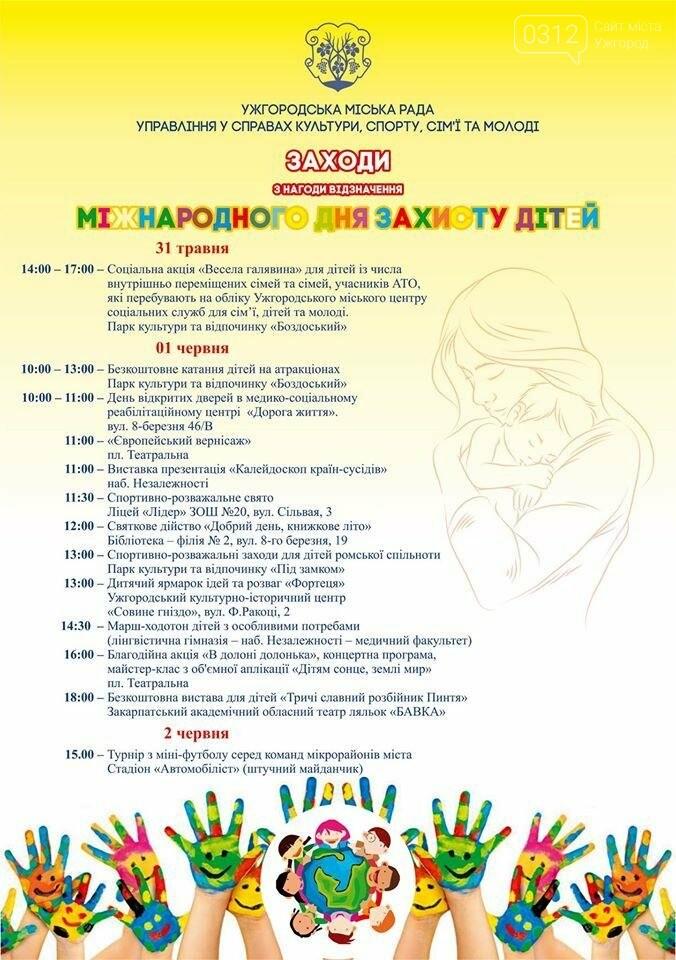 1 червня атракціони для дітей у Боздоському парку  будуть безкоштовними, фото-1