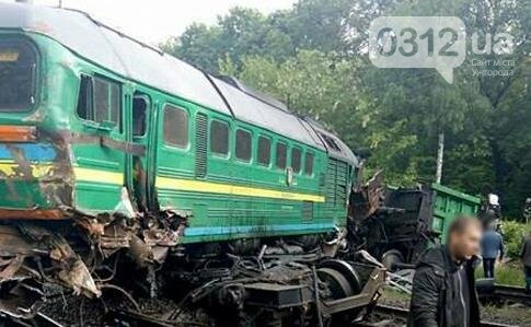 На Хмельниччині локомотив зіткнувся із пасажирським потягом: шестеро травмованих, з яких троє дітей (ФОТО), фото-1