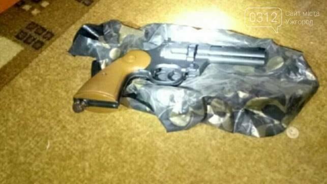 На Воловеччині чоловік у вітальній ховав 3 пістолети, гранати та ракетницю: фото , фото-1