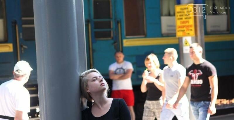 """В Ужгороді на залізничному вокзалі пролунав """"Круглий звук"""": фоторепортаж, фото-11"""