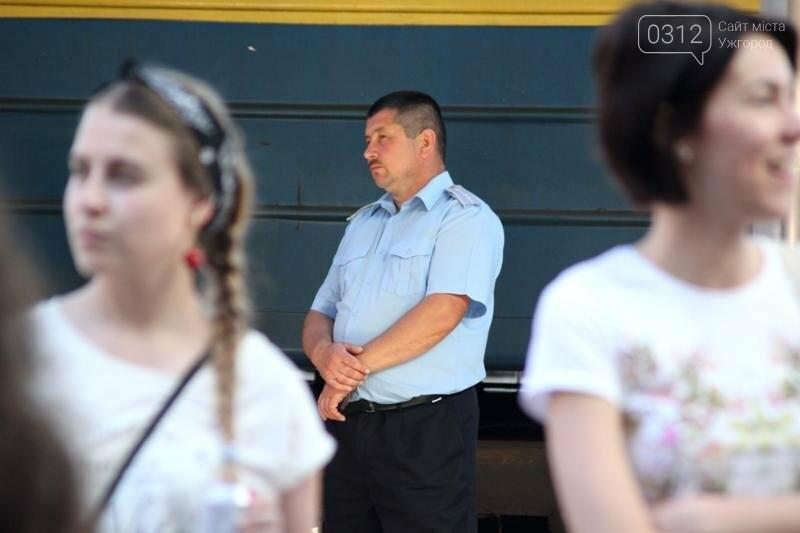 """В Ужгороді на залізничному вокзалі пролунав """"Круглий звук"""": фоторепортаж, фото-13"""