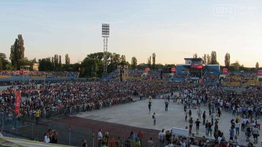Океан Ельзи в Ужгороді: перші фото та відео, фото-3