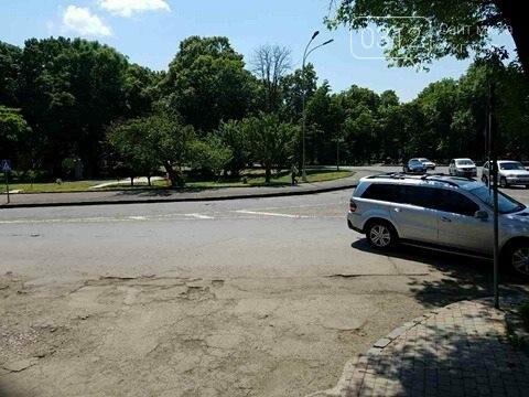 В Ужгороді горе-водій заблокував проїзну частину: фото, фото-2