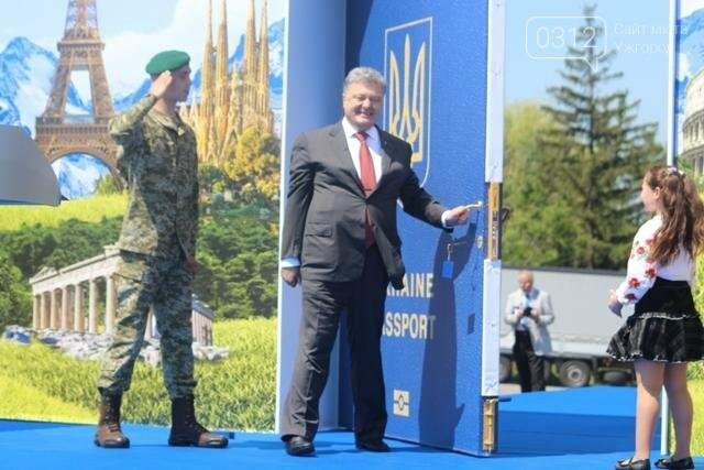 Як на кордоні в Ужгороді президент Порошенко двері у Європу відчиняв: фоторепортаж, фото-15