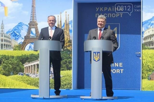 Як на кордоні в Ужгороді президент Порошенко двері у Європу відчиняв: фоторепортаж, фото-25