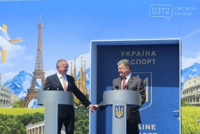 Як на кордоні в Ужгороді президент Порошенко двері у Європу відчиняв: фоторепортаж, фото-12