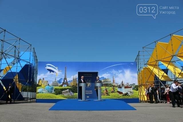 Як на кордоні в Ужгороді президент Порошенко двері у Європу відчиняв: фоторепортаж, фото-17