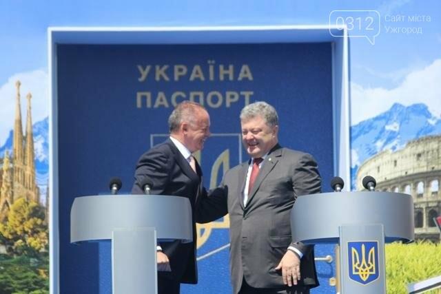 Як на кордоні в Ужгороді президент Порошенко двері у Європу відчиняв: фоторепортаж, фото-18