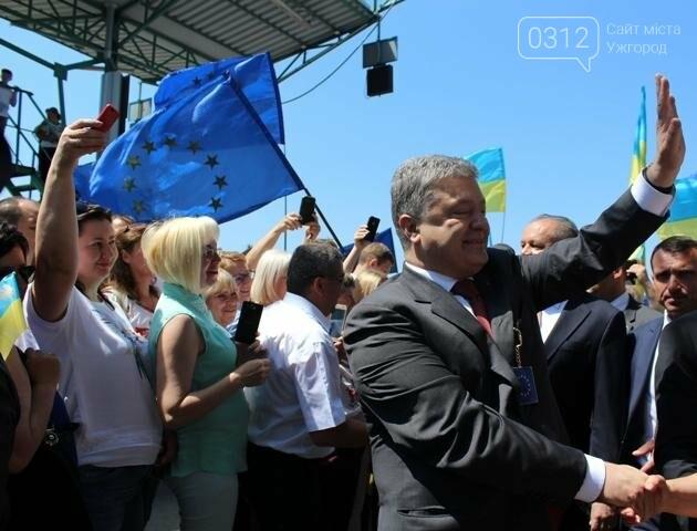Як на кордоні в Ужгороді президент Порошенко двері у Європу відчиняв: фоторепортаж, фото-29