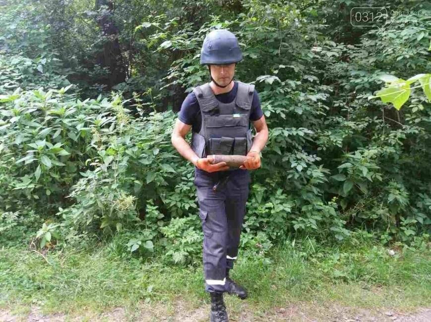 В Оріховиці біля Ужгороді підірвали два снаряди: фото, фото-1