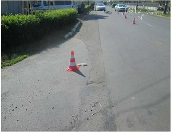 """У Мукачеві водій на """"Мазді"""" збив 13-річного велосипедиста - дитину госпіталізовано, фото-2"""