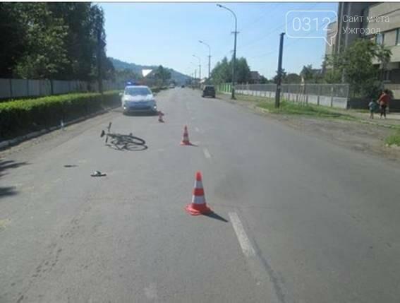 """У Мукачеві водій на """"Мазді"""" збив 13-річного велосипедиста - дитину госпіталізовано, фото-1"""