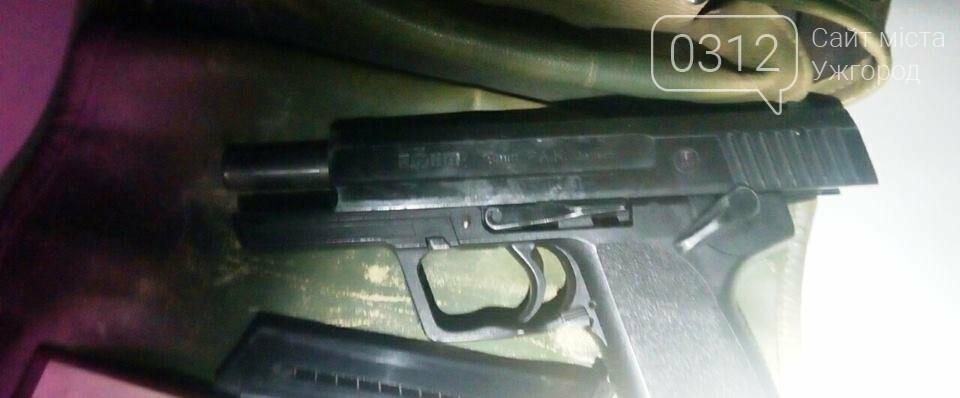 """У """"Мерседесі"""" із Берегова прикордонники знайшли пістолет і мачете: фото, фото-1"""