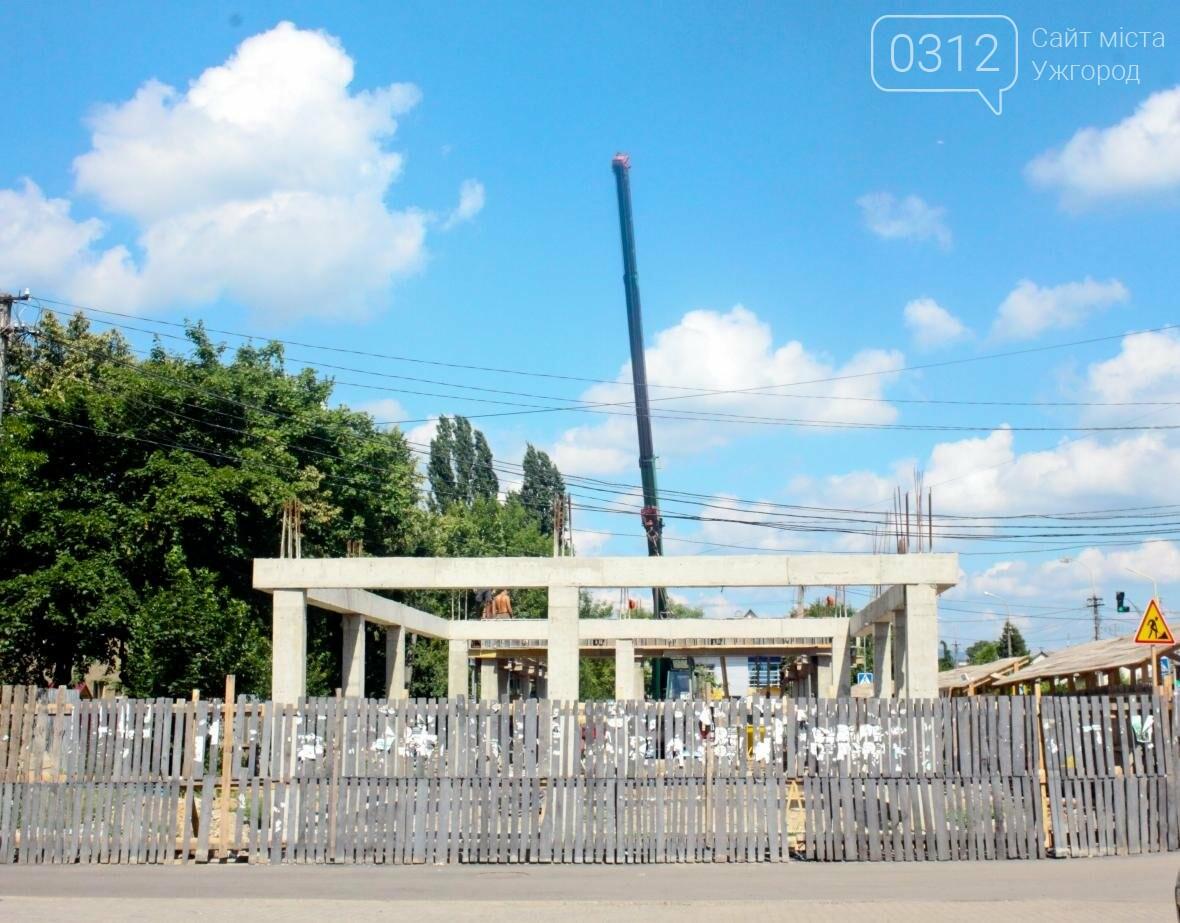 """В Ужгороді на місці """"базарчика"""" біля """"Токіо"""" будують торгово-офісний центр: фото, фото-1"""