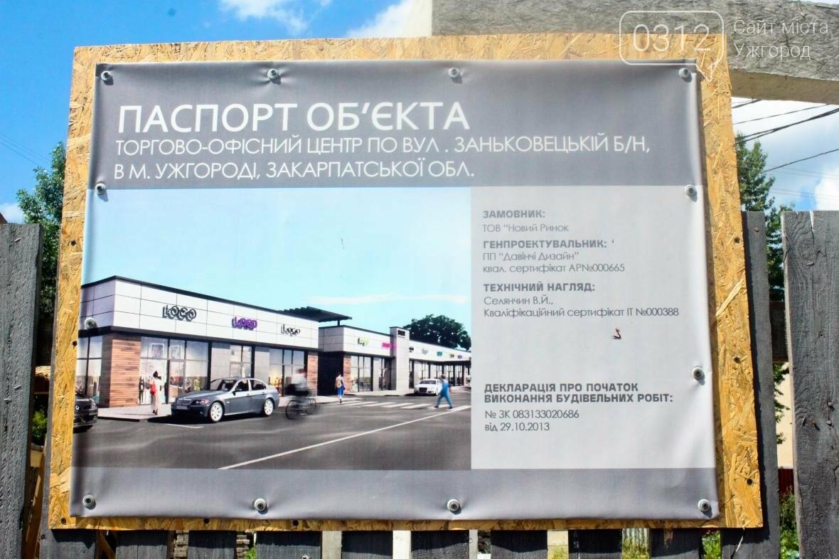 """В Ужгороді на місці """"базарчика"""" біля """"Токіо"""" будують торгово-офісний центр: фото, фото-2"""