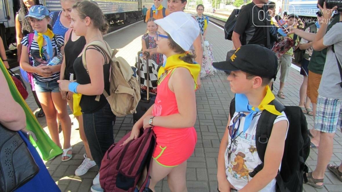 З Ужгорода на відпочинок у Словаччину поїхали 15 дітей-волонтерів та бійців АТО: фото, фото-4