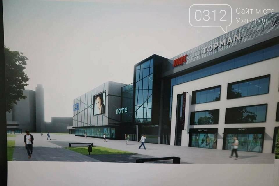 """У мережі з'явився проект торгового центру на місці ужгородського універмагу """"Україна"""", фото-3"""