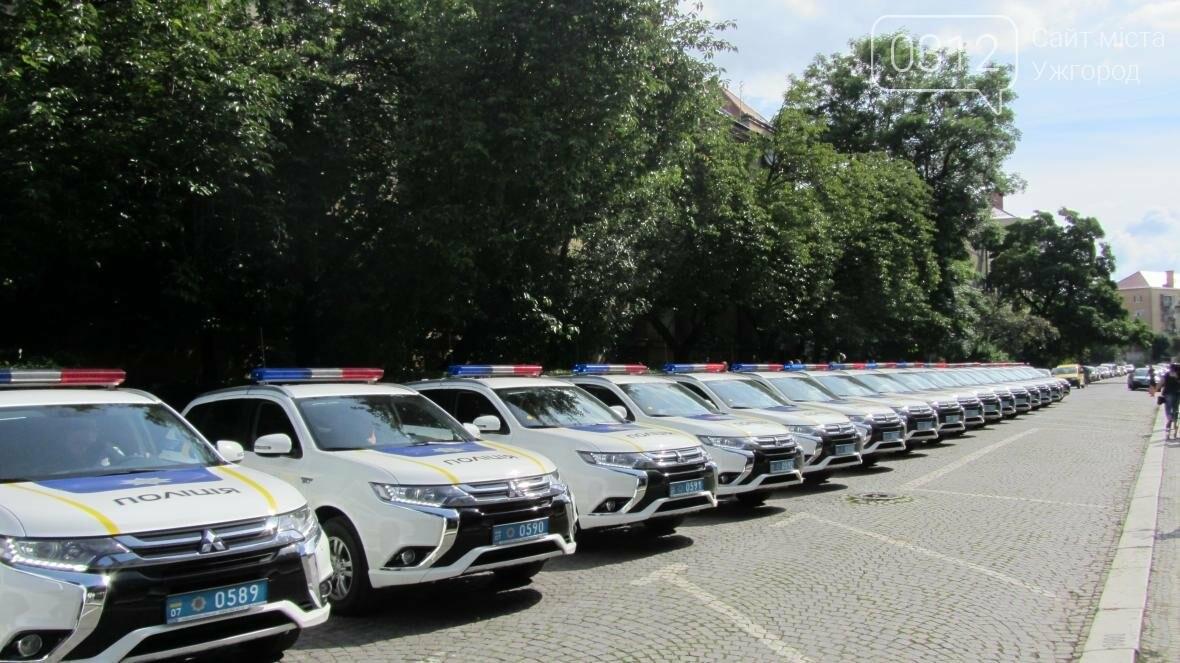 """В Ужгороді поліцейським вручили нові """"Mitsubishi Outlander"""": фото і відео , фото-7"""