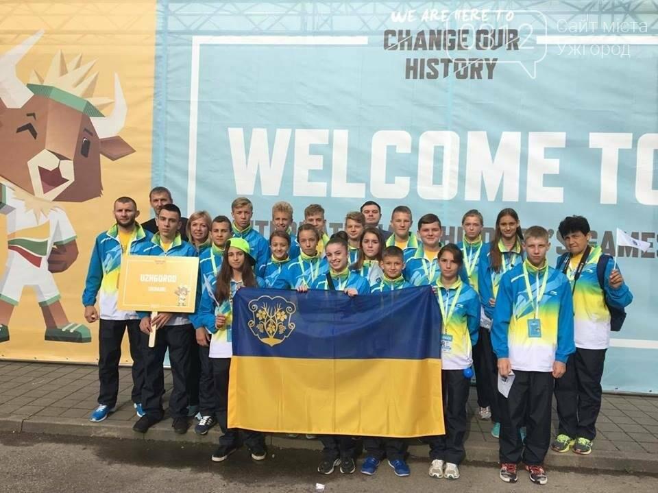 Ужгородці привезли перемогу з Міжнародних дитячих ігор у Каунасі: фоторепортаж, фото-1