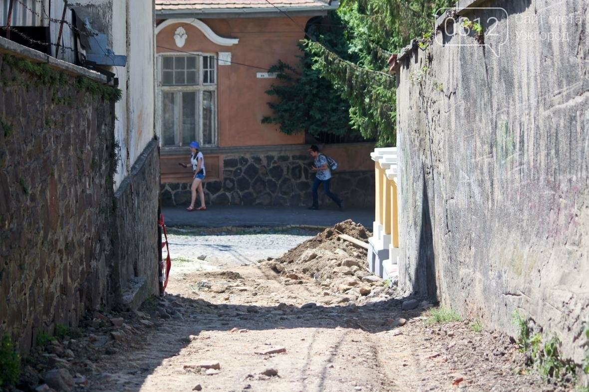 Шлях у один кінець: як в Ужгороді капітально ремонтують Замкові сходи - фоторепортаж, фото-7