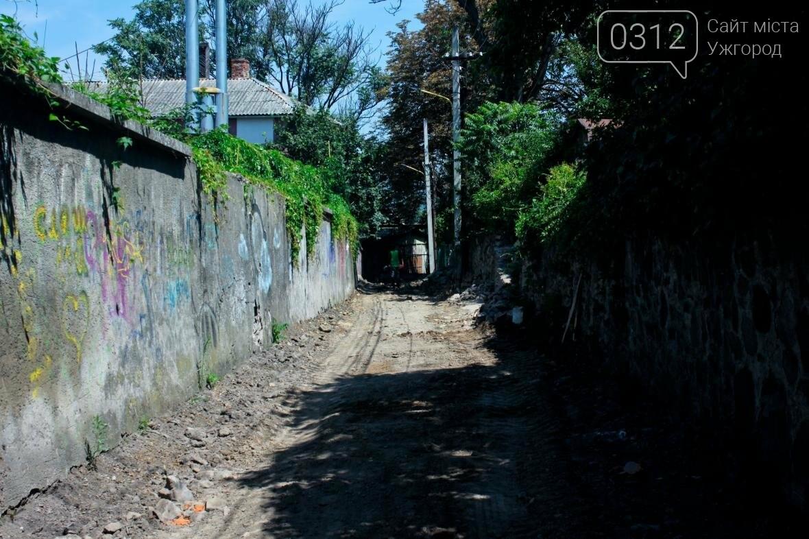 Шлях у один кінець: як в Ужгороді капітально ремонтують Замкові сходи - фоторепортаж, фото-14
