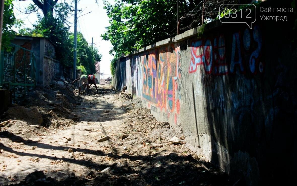 Шлях у один кінець: як в Ужгороді капітально ремонтують Замкові сходи - фоторепортаж, фото-4