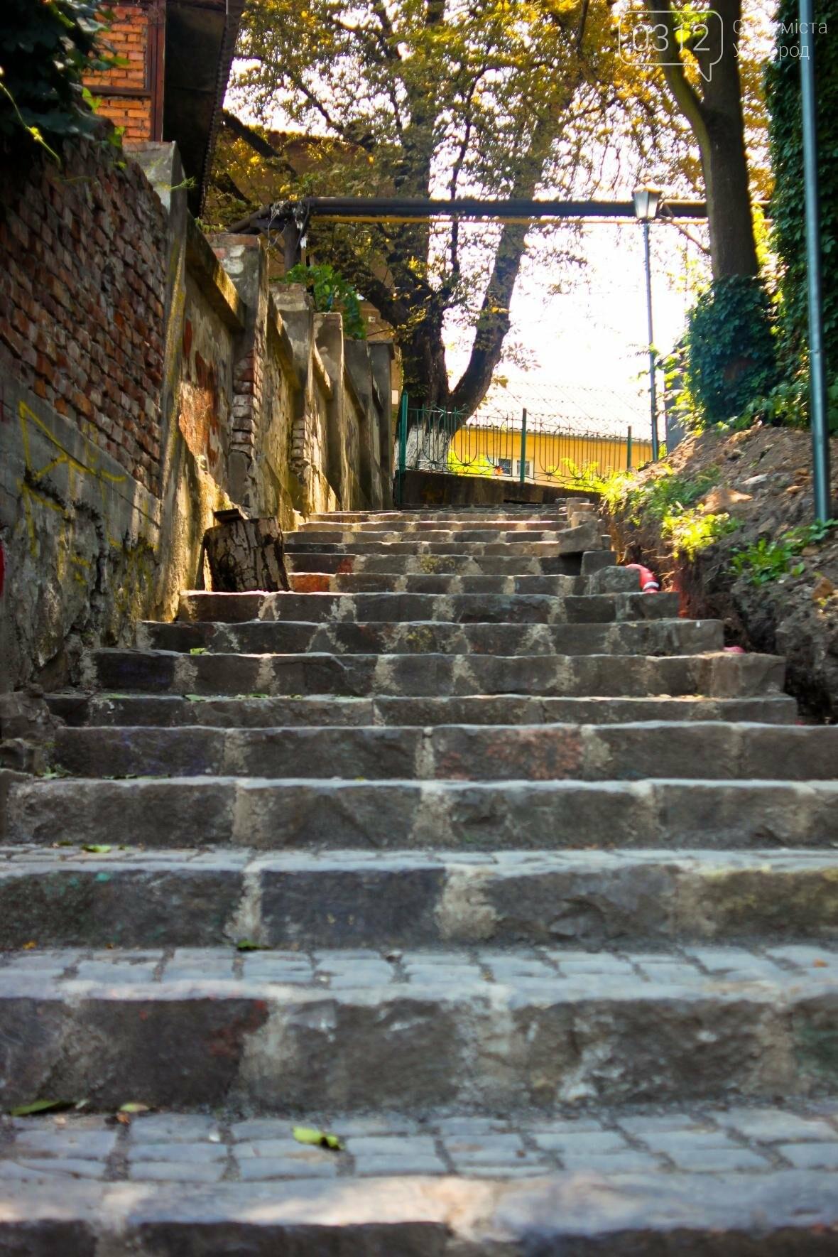 Шлях у один кінець: як в Ужгороді капітально ремонтують Замкові сходи - фоторепортаж, фото-5