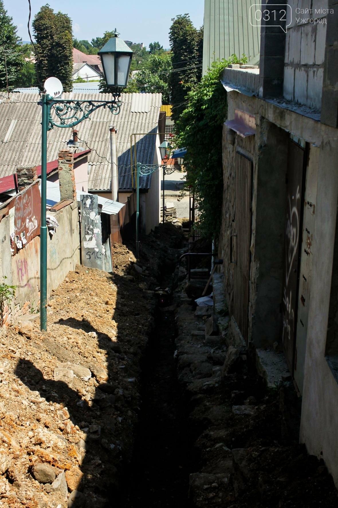 Шлях у один кінець: як в Ужгороді капітально ремонтують Замкові сходи - фоторепортаж, фото-6