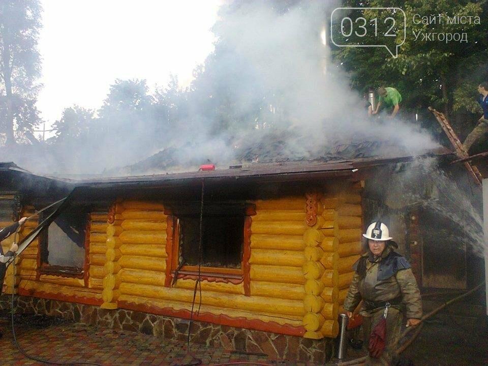 У селі Ужок пожежу гасили 17 рятувальників - ресторан згорів повністю: фото, фото-6