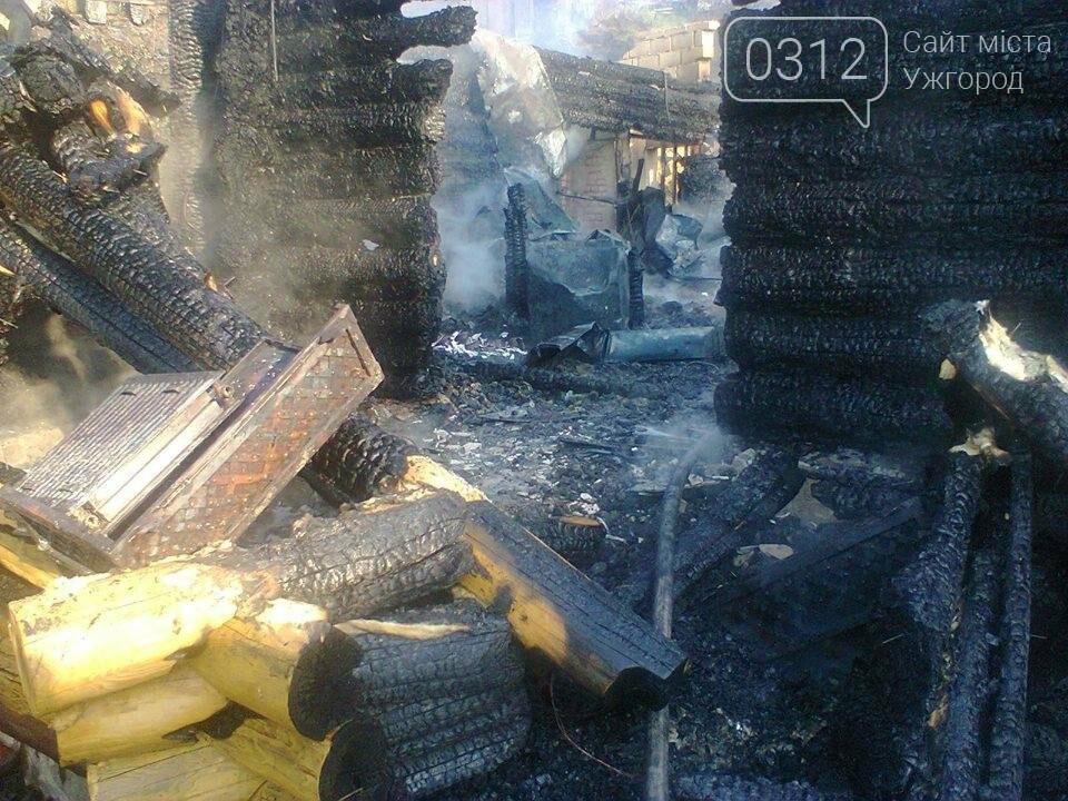 У селі Ужок пожежу гасили 17 рятувальників - ресторан згорів повністю: фото, фото-2