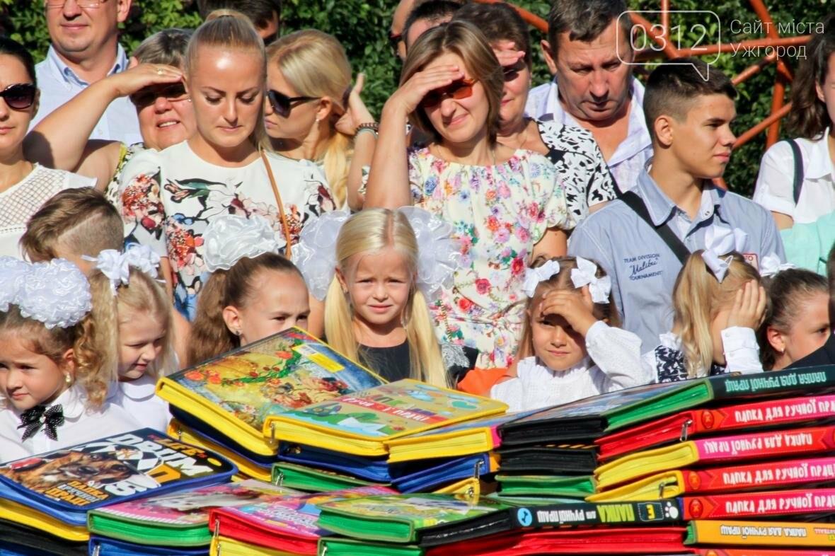 День знань  в ужгородській ЗОШ №3: без позіхань, зате із бабою Ягою (ФОТОРЕПОРТАЖ), фото-15
