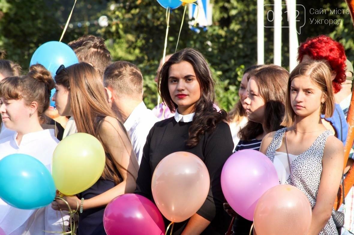 День знань  в ужгородській ЗОШ №3: без позіхань, зате із бабою Ягою (ФОТОРЕПОРТАЖ), фото-13