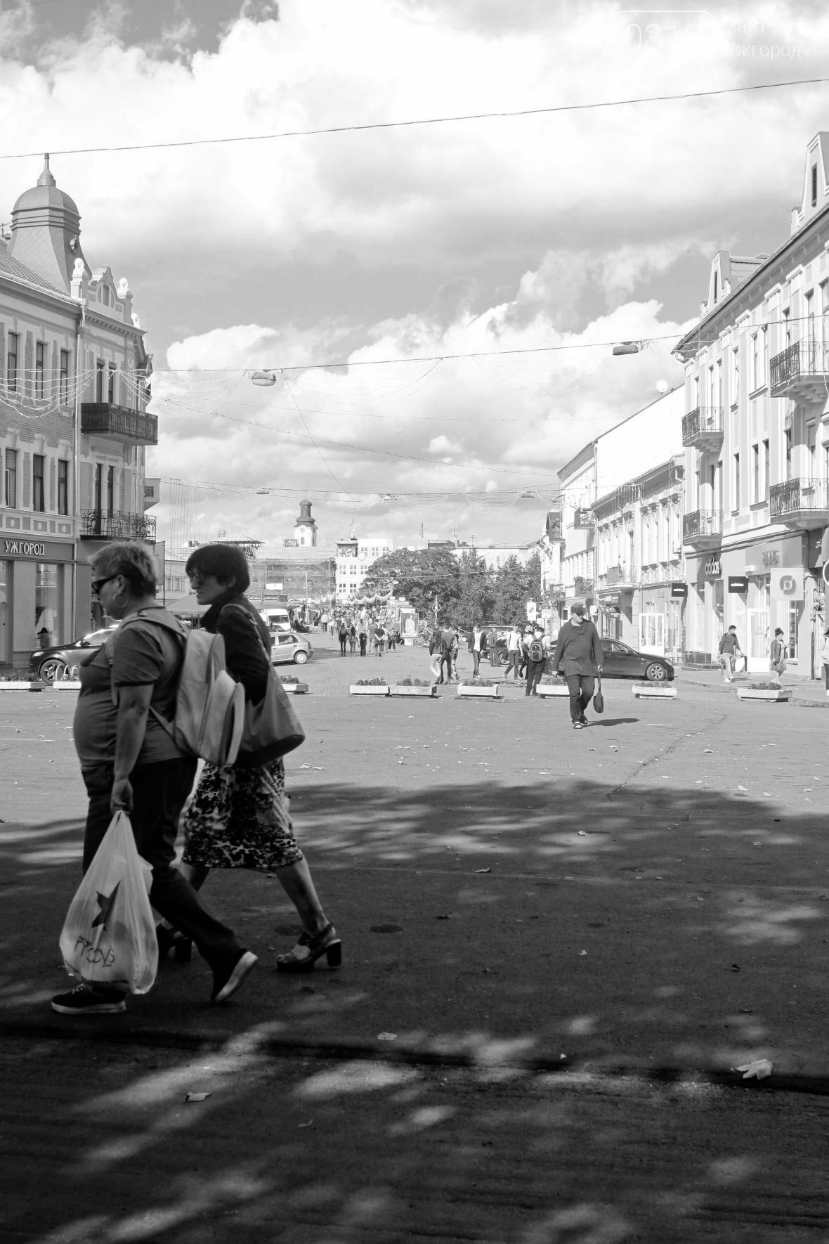 Перекрили, а ремонт не почали: Петефі без автомобілів та з людьми на дорозі (ФОТОРЕПОРТАЖ), фото-8
