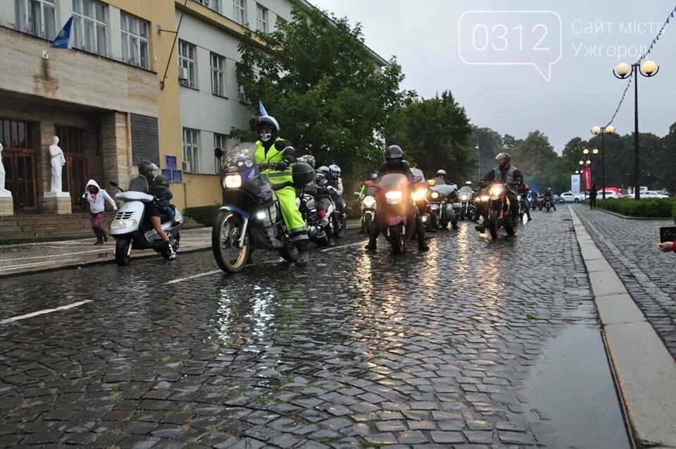 У день народження Ужгорода місто заполонили унікальні мотоцикли (ФОТО, ВІДЕО), фото-1