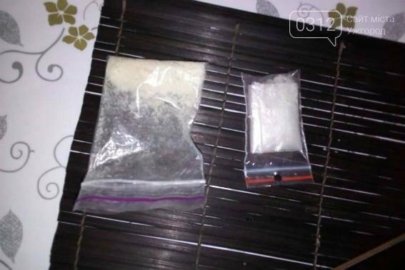 Обшуки у наркоманів Ужгорода: метамфетамін, марихуана і пістолет (ФОТО) , фото-2