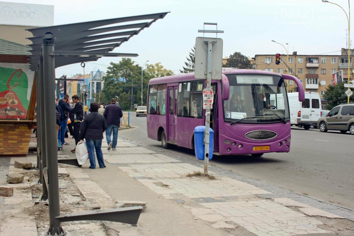 Нові зупинки в Ужгороді будуть до неділі, а вай-фай - за 3 тижні, фото-12