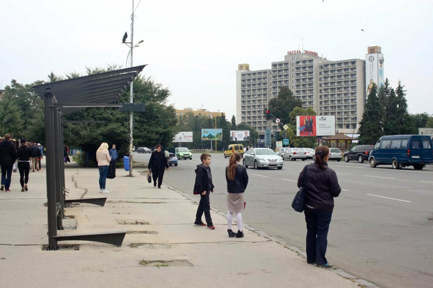 Нові зупинки в Ужгороді будуть до неділі, а вай-фай - за 3 тижні, фото-6