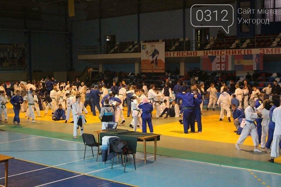 260 учасників з 7 країн світу: в Ужгороді стартував міжнародний турнір з дзюдо (ФОТОРЕПОРТАЖ), фото-13