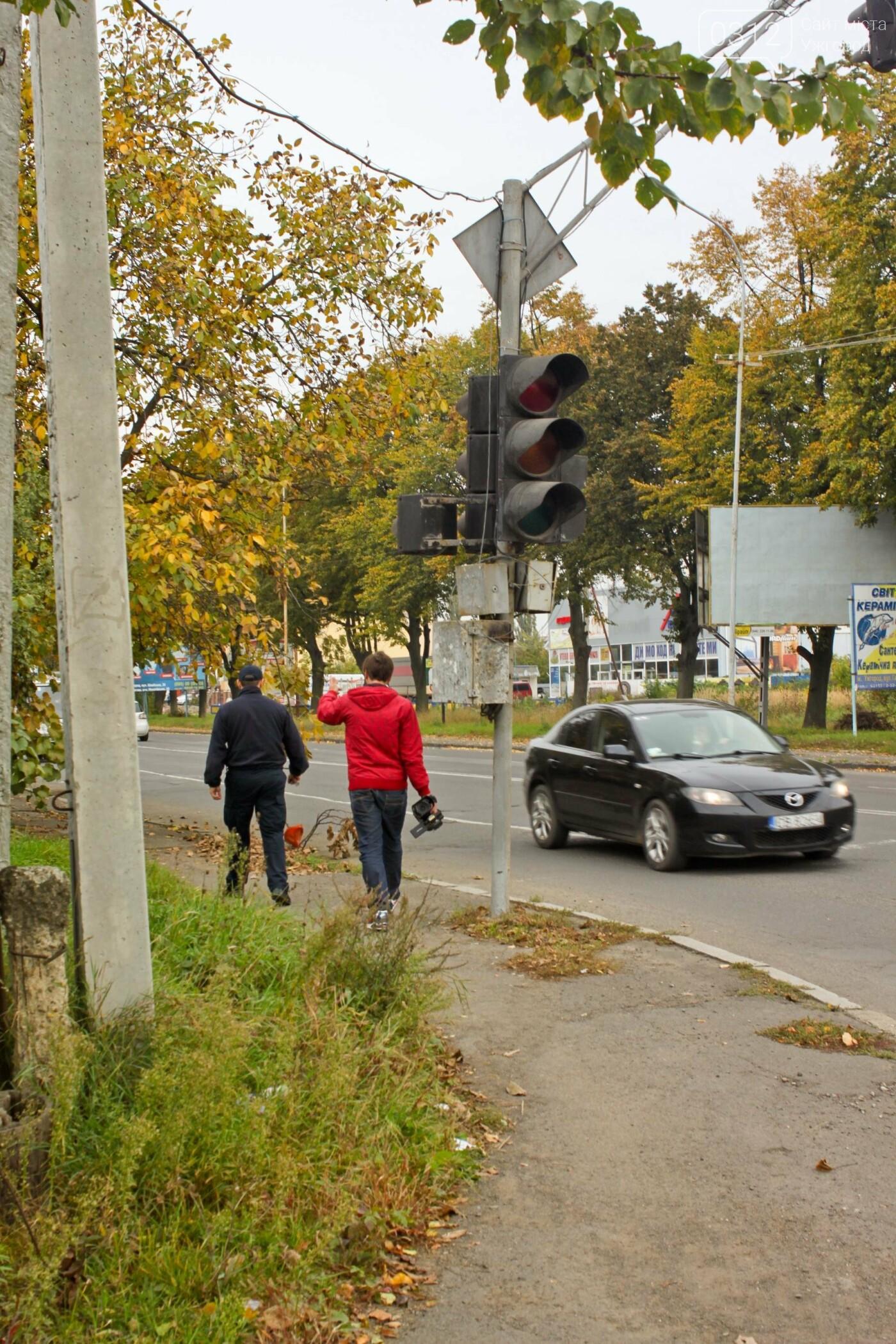 Чому в Ужгороді на Гагаріна можна легко потрапити у ДТП: фоторепортаж, фото-5