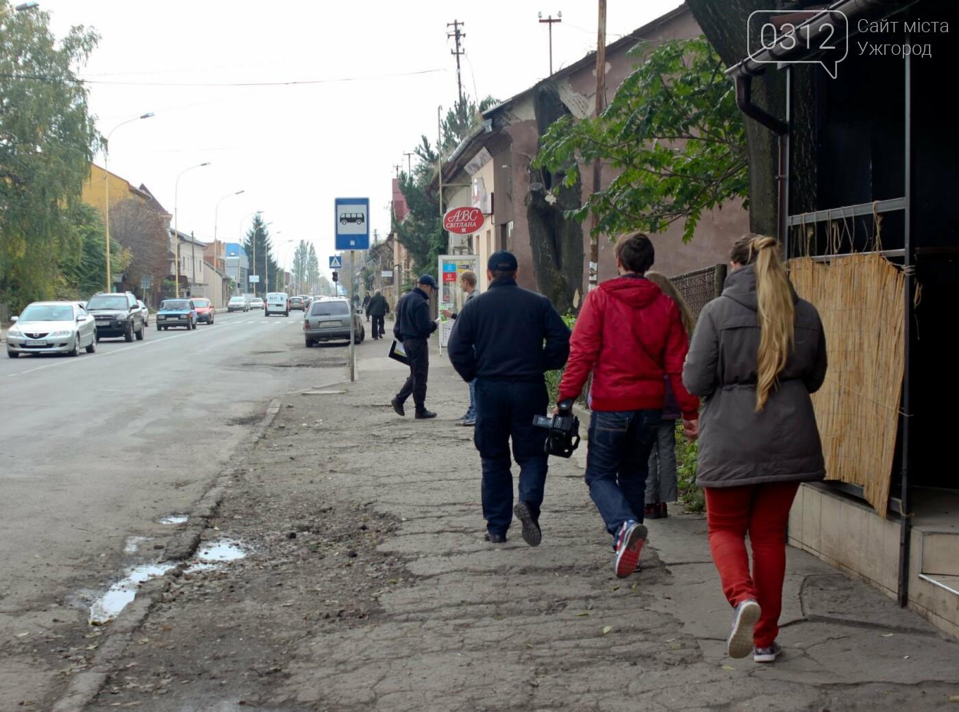 Чому в Ужгороді на Гагаріна можна легко потрапити у ДТП: фоторепортаж, фото-10