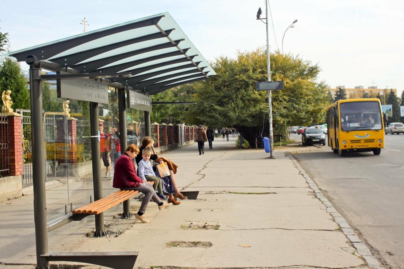 Антивандальне скло та відеоспостереження: чим дивуватимуть нові зупинки в Ужгороді? (ФОТОРЕПОРТАЖ), фото-10