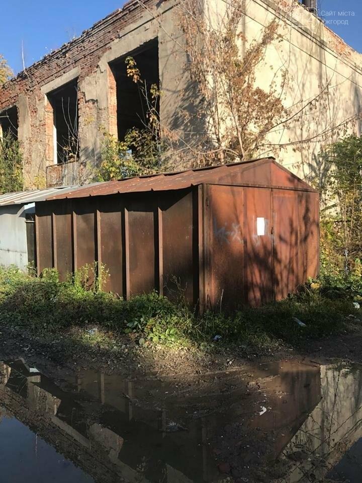 Власників гаражів на Одеській в Ужгороді закликають подати документи на право користування: фото, фото-5