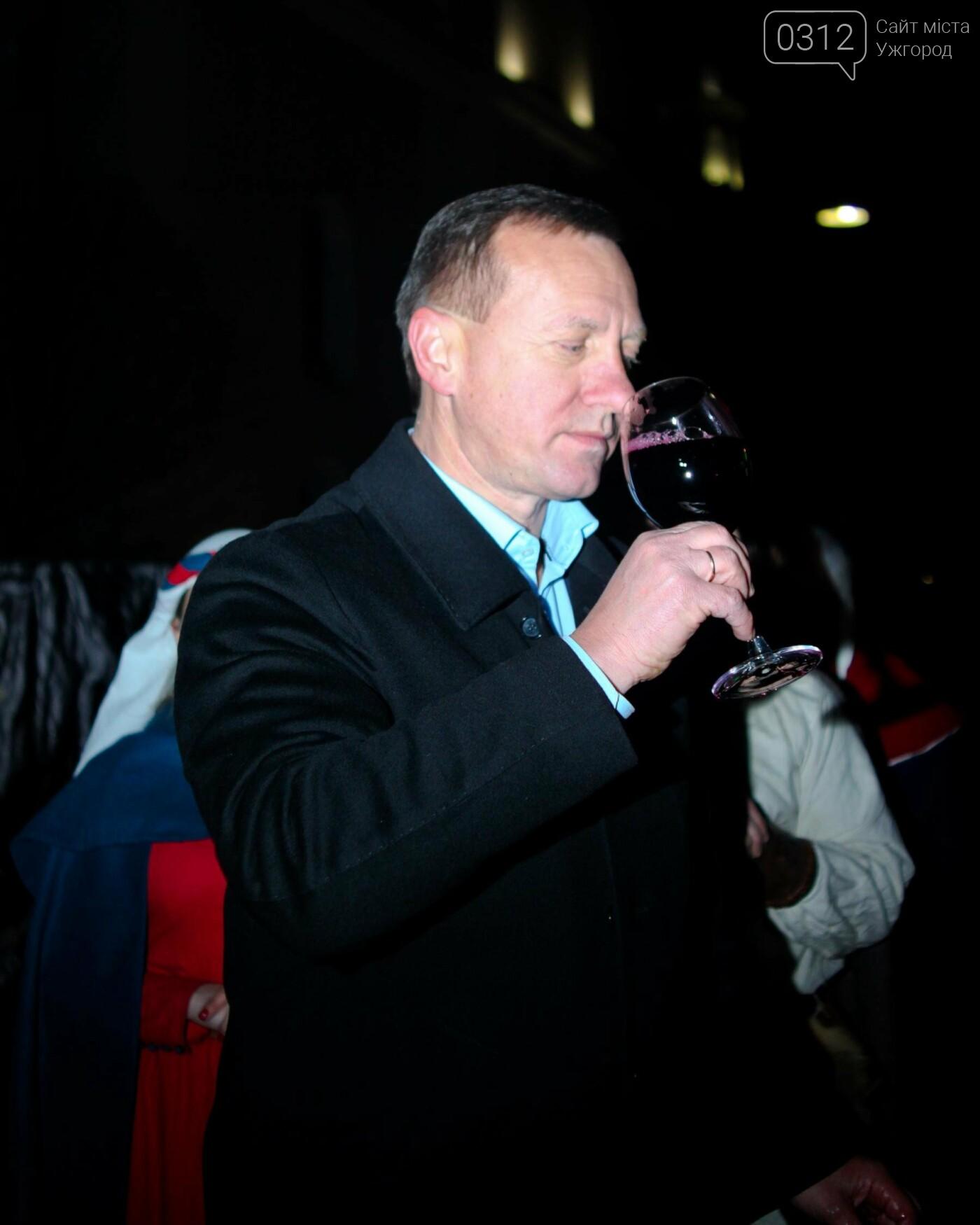 """""""Закарпатське божоле"""": як на Корзо мер відкривав першу бочку молодого вина (ФОТОРЕПОРТАЖ), фото-19"""