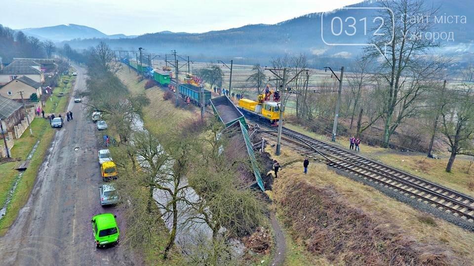 На Закарпатті з рейок з'їхав вантажний потяг (ФОТО, ВІДЕО), фото-5