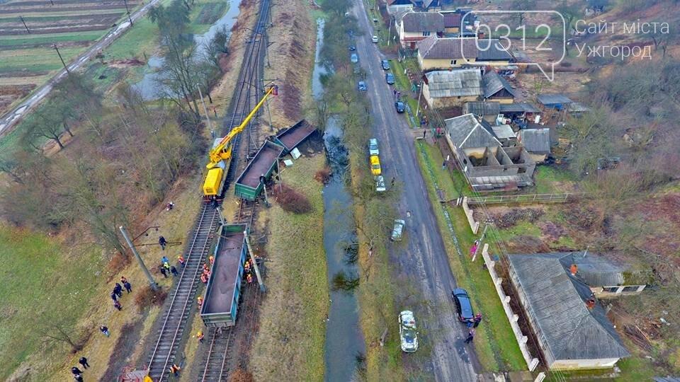 На Закарпатті з рейок з'їхав вантажний потяг (ФОТО, ВІДЕО), фото-6