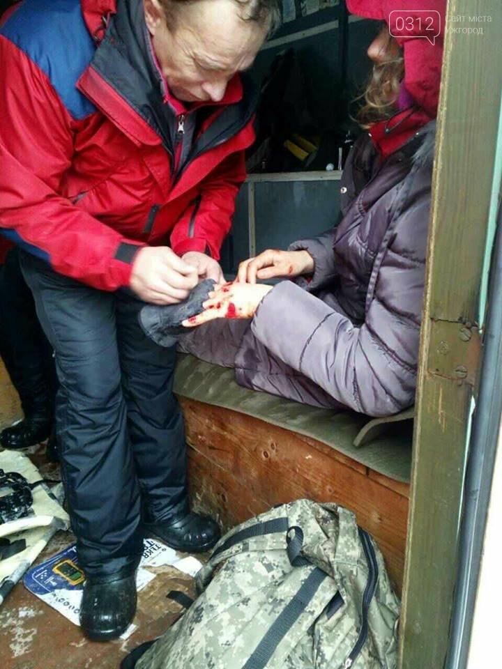 На Закарпатті туристка з Києва зірвалася з обледенілого схилу гори Петрос та скотилася у 300-метрову прірву (ФОТОРЕПОРТАЖ), фото-6