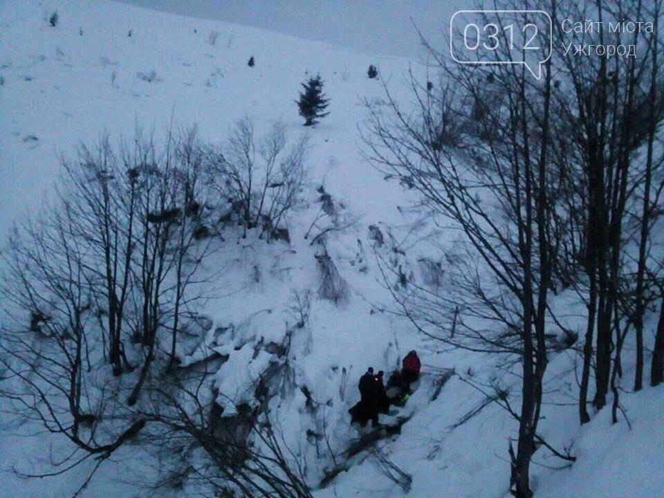 На Закарпатті туристка з Києва зірвалася з обледенілого схилу гори Петрос та скотилася у 300-метрову прірву (ФОТОРЕПОРТАЖ), фото-1