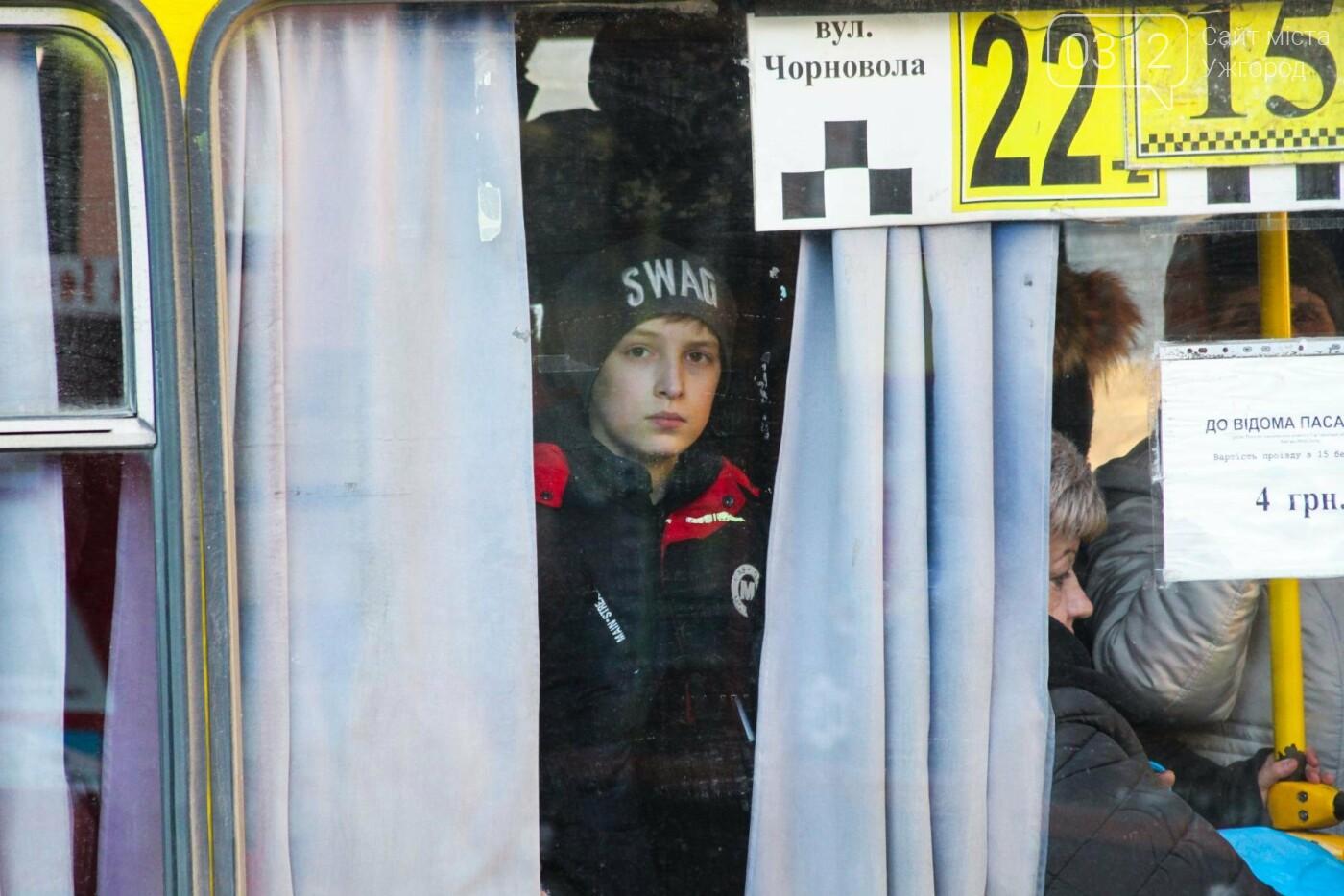 Проблема №15/22: в Ужгороді пасажири півтори години чекають на «маршрутку», а потім скидаються на таксі (РЕПОРТАЖ), фото-11