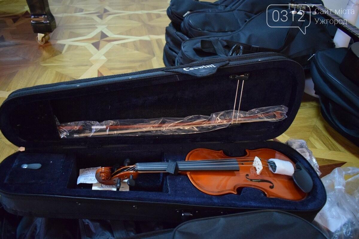 В ужгородську музичну школу імені Чайковського купили нову апаратуру та інструменти за 146 000 гривень (ФОТО), фото-5