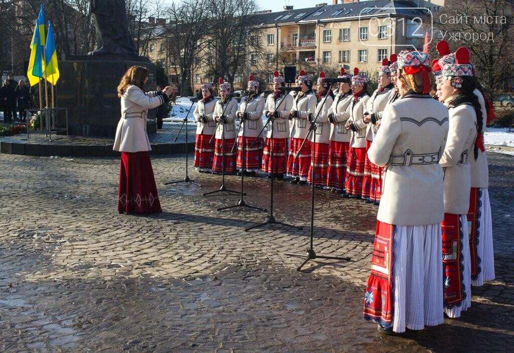 День Соборності в Ужгороді: 100-метровий прапор, урочиста музика та єднання на мості (ФОТОРЕПОРТАЖ, ВІДЕО), фото-4